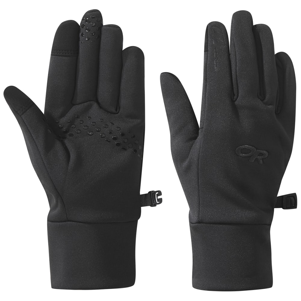 OUTDOOR RESEARCH Women's Vigor Midweight Sensor Gloves - BLACK - 0001