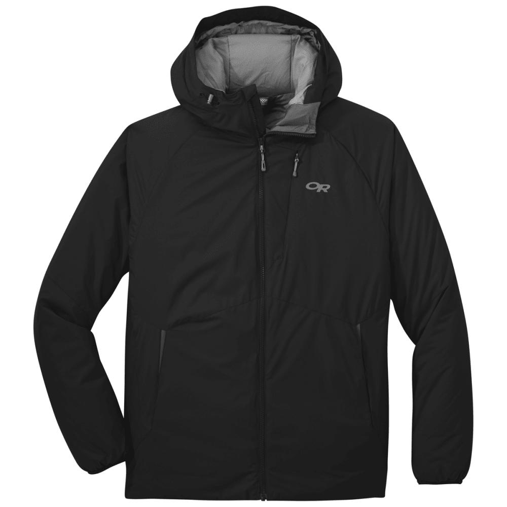 OUTDOOR RESEARCH Men's Refuge Hooded Jacket - BLACK - 0001