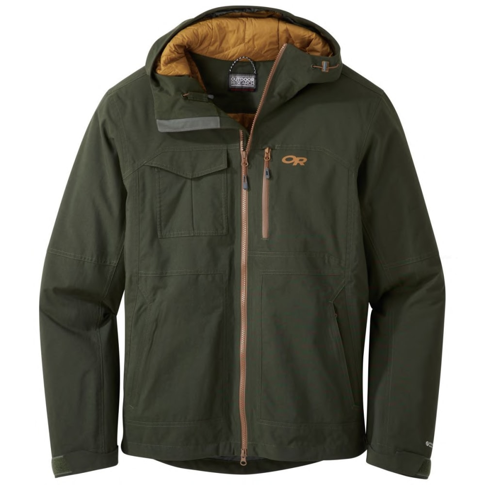 OUTDOOR RESEARCH Men's Blackpowder II Insulated Jacket - 0600 FOREST
