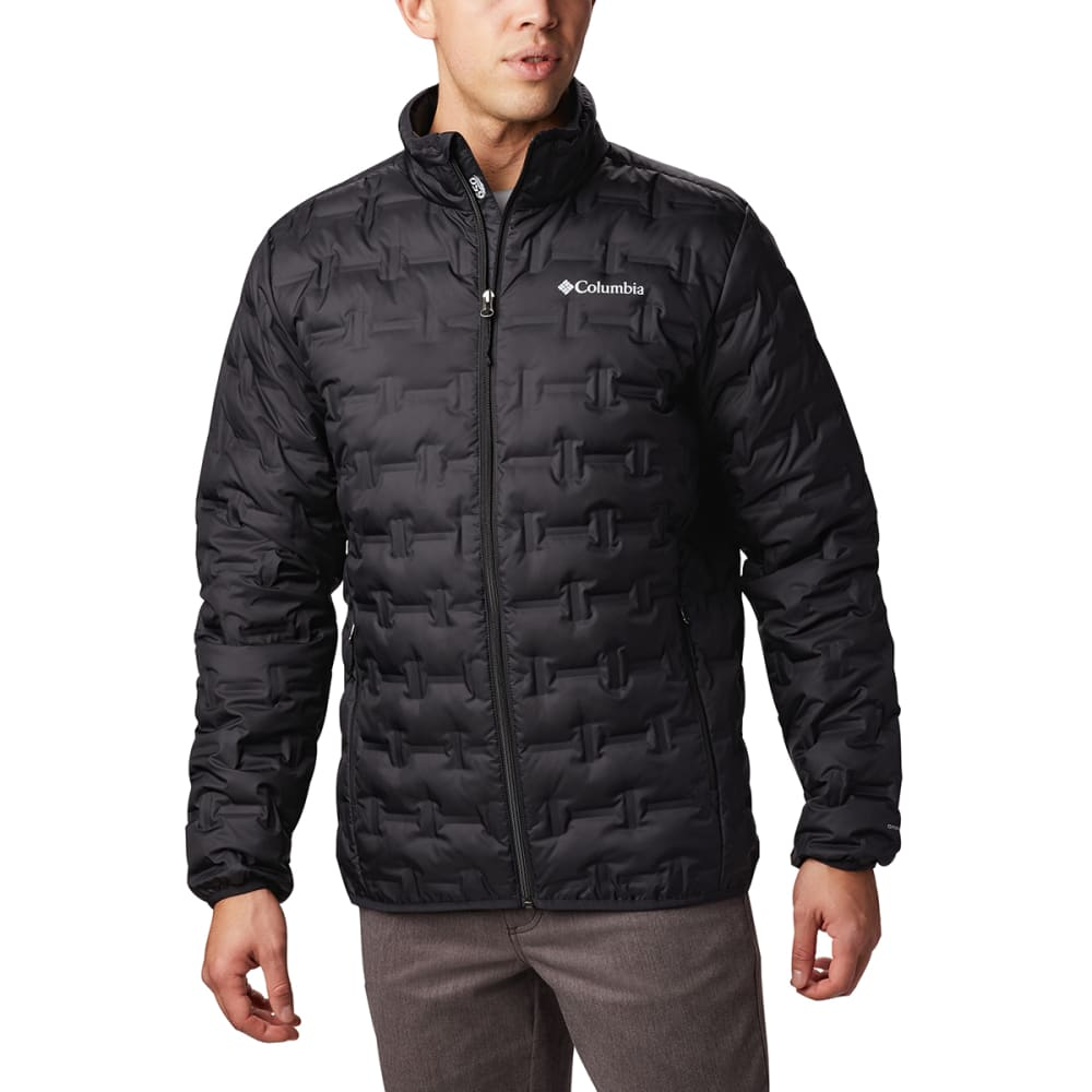 COLUMBIA Men's Delta Ridge Down Jacket - BLACK-010