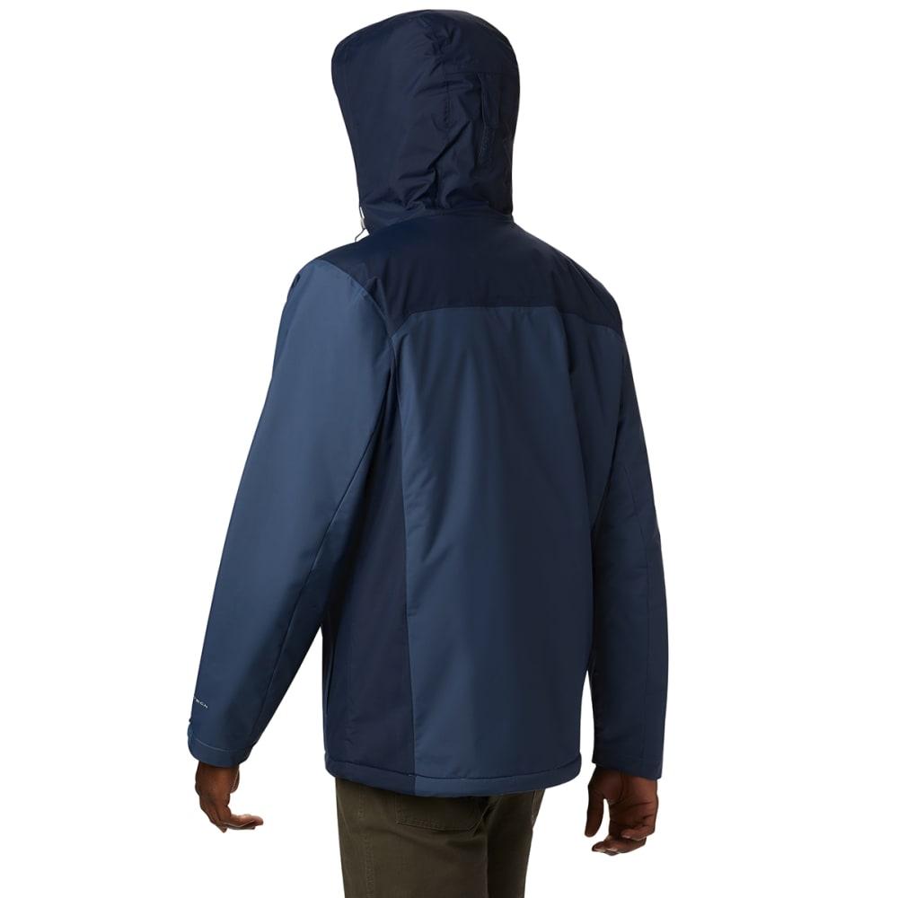 COLUMBIA Men's Tipton Peak Insulated Jacket - DK MOUNTAIN NAVY-478
