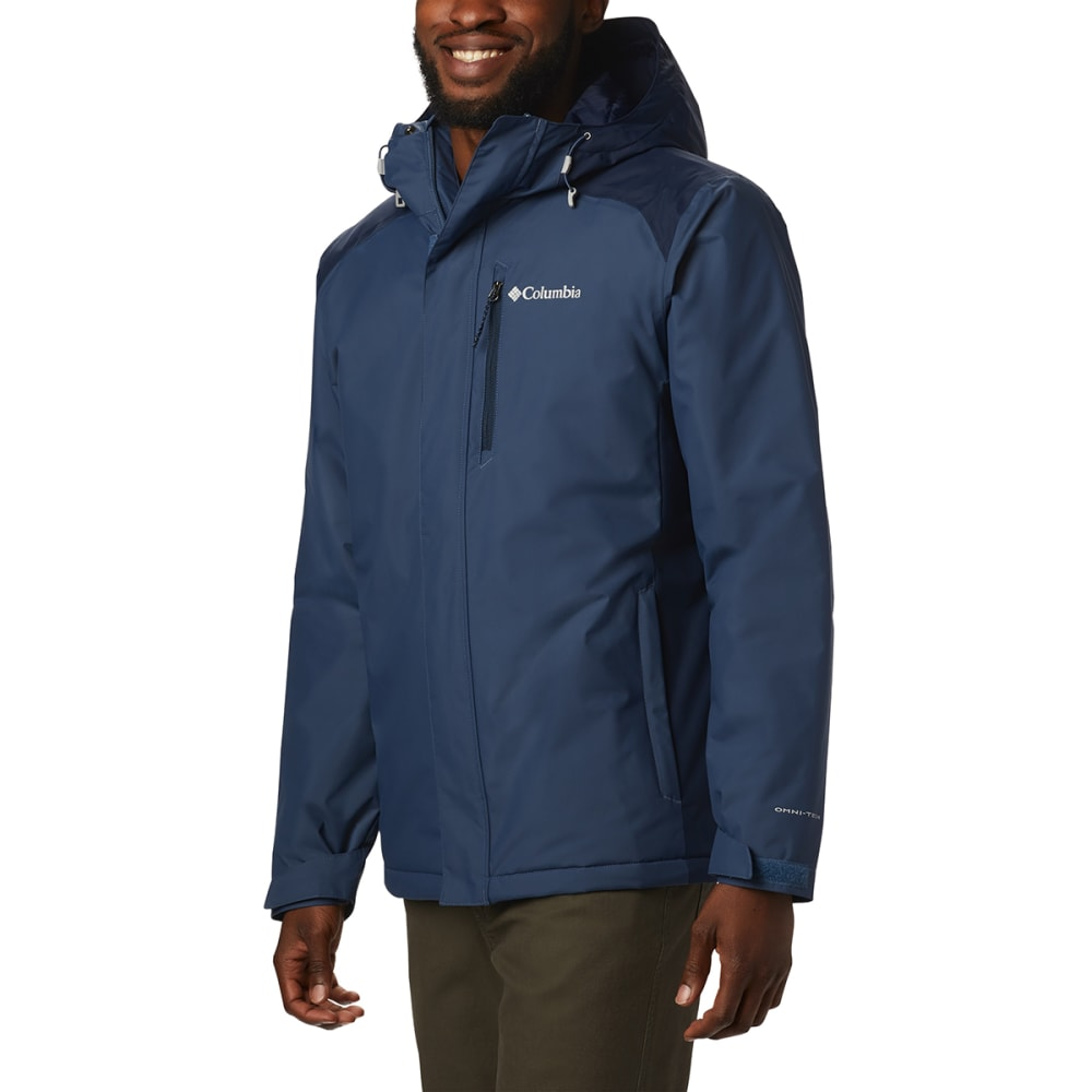 COLUMBIA Men's Tipton Peak Insulated Jacket - DK MOUNTAIN NAVY-478