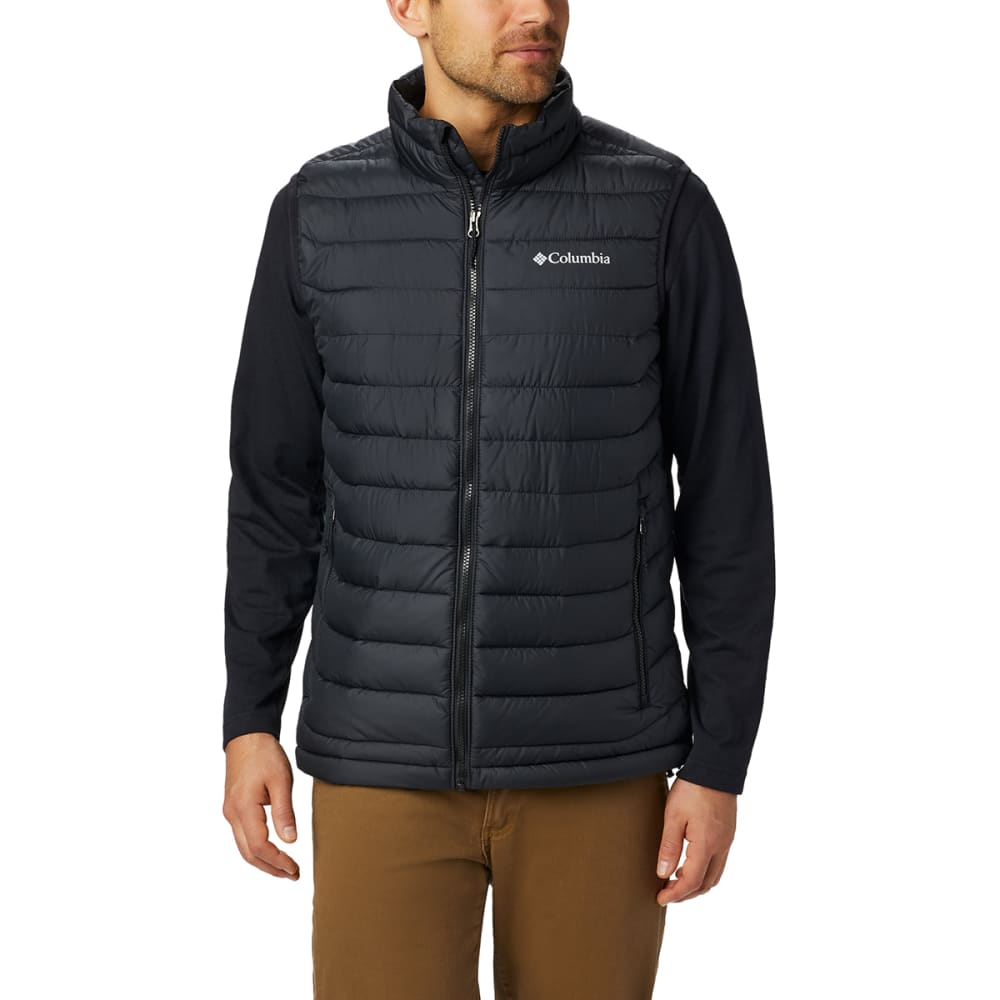 COLUMBIA Men's Powder Lite Vest - BLACK-011