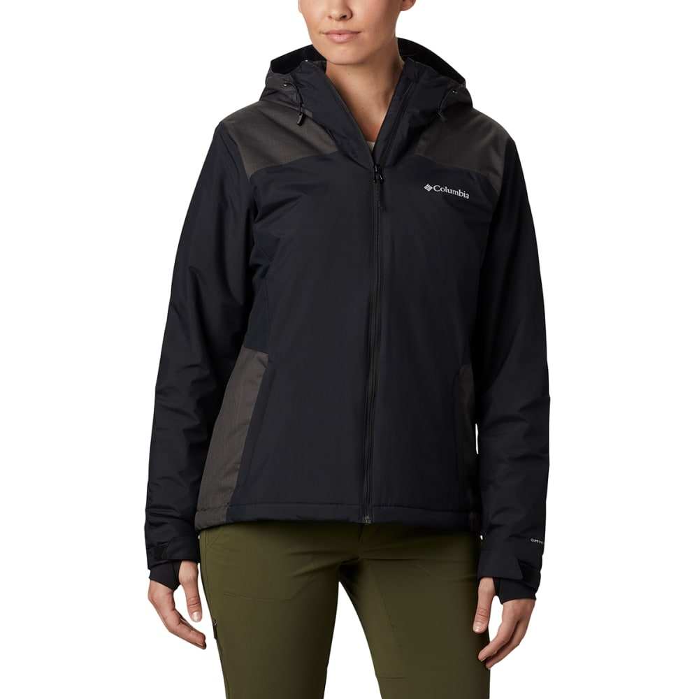 COLUMBIA Women's Tipton Peak Insulated Hooded Jacket M