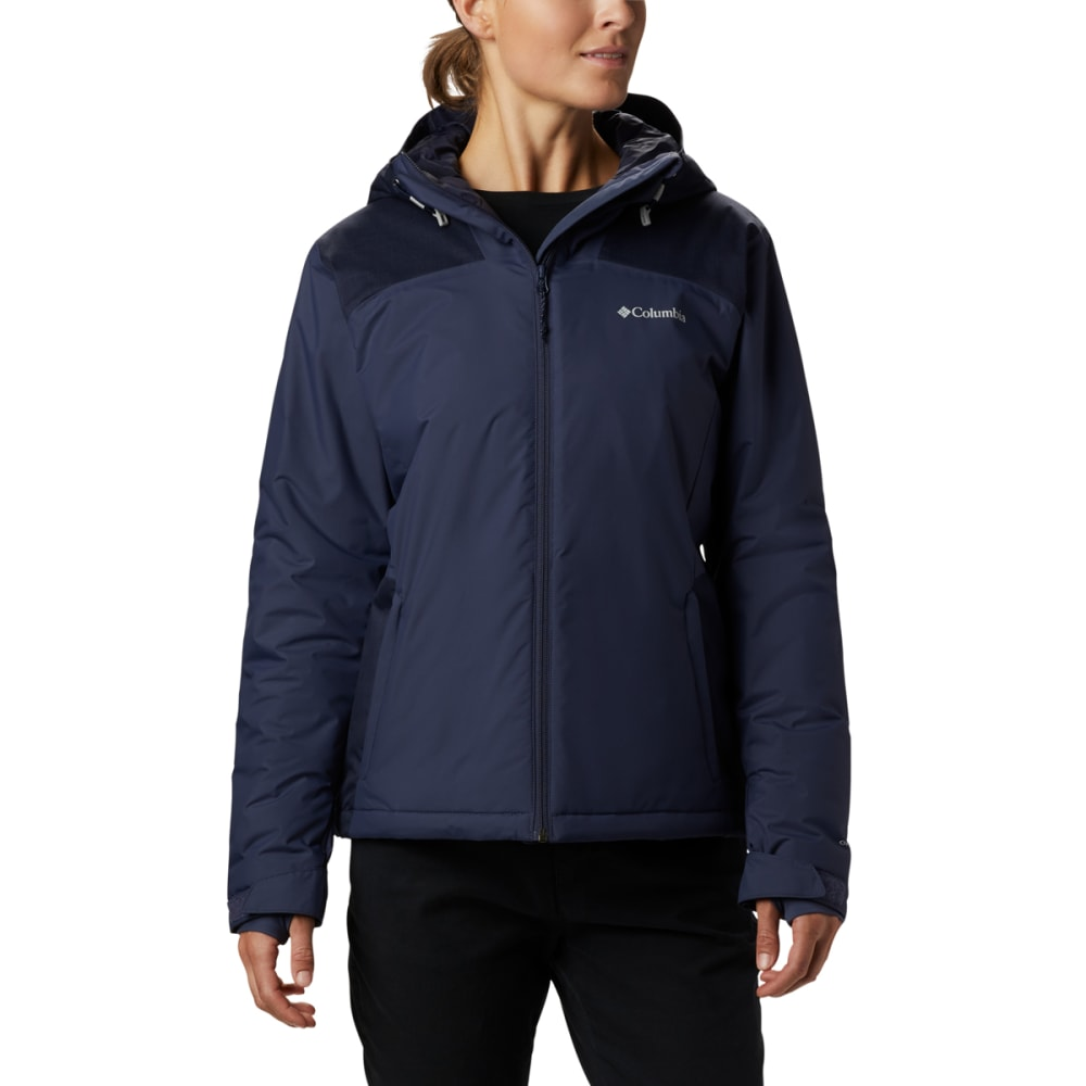COLUMBIA Women's Tipton Peak Insulated Hooded Jacket S