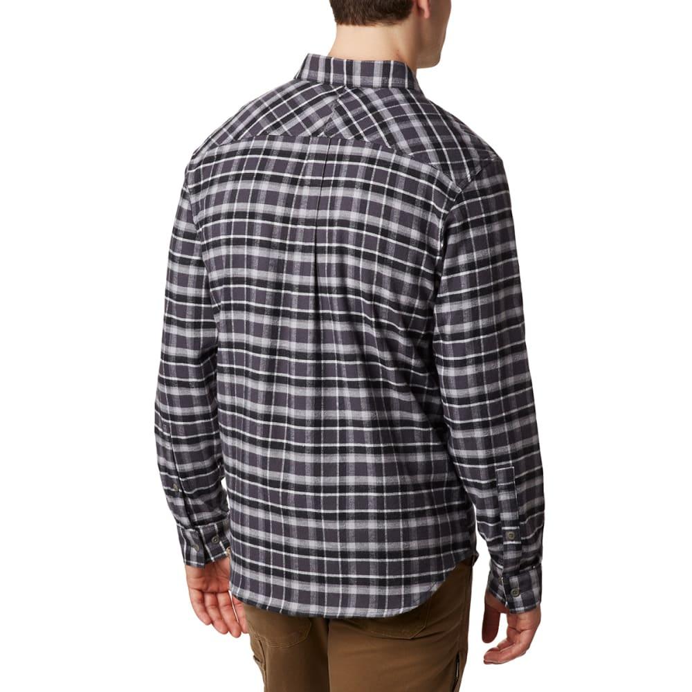 COLUMBIA Men's Flare Gun Stretch Flannel Shirt - SHARK GRID-011