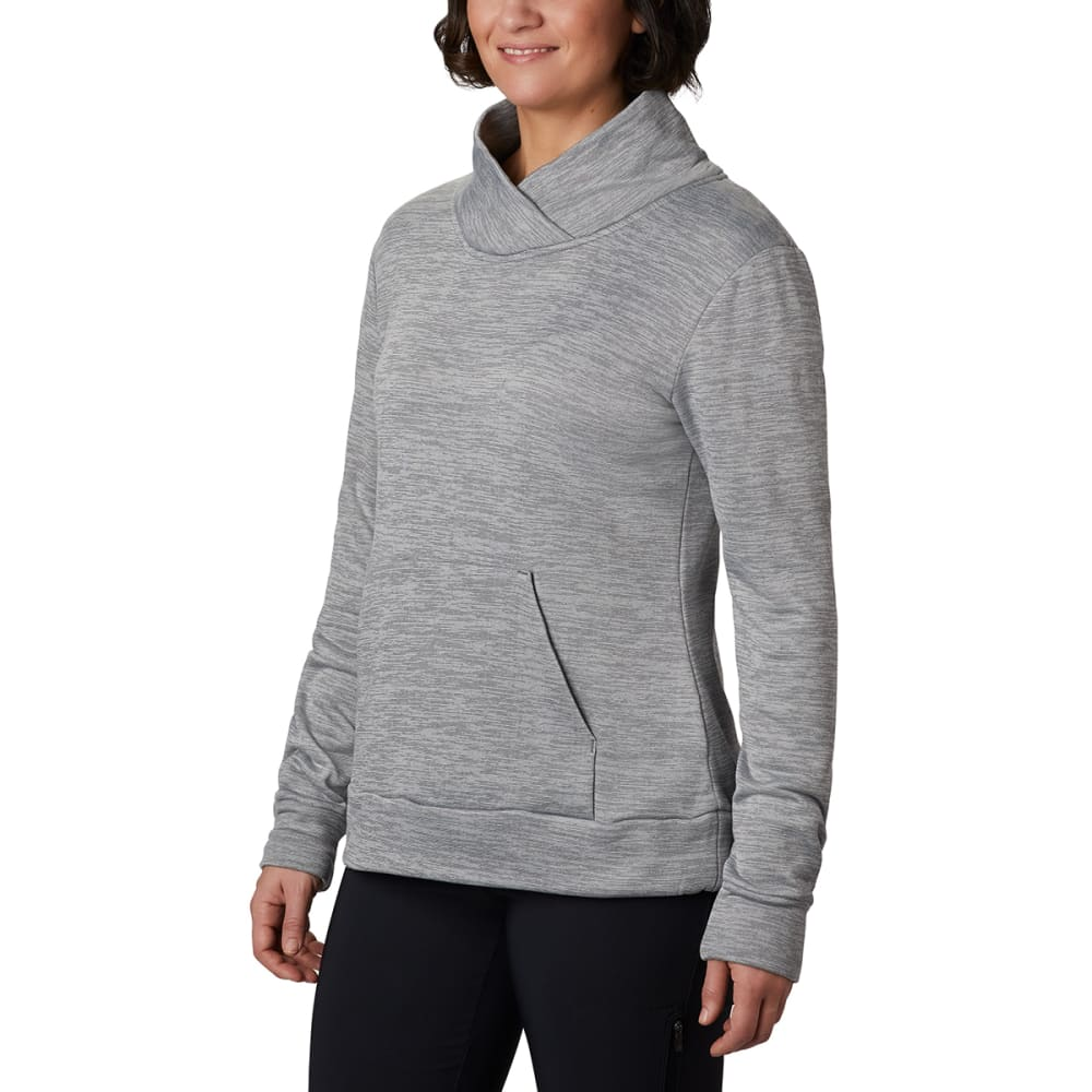 COLUMBIA Women' Place to Place Pullover - 023-CITY GREY