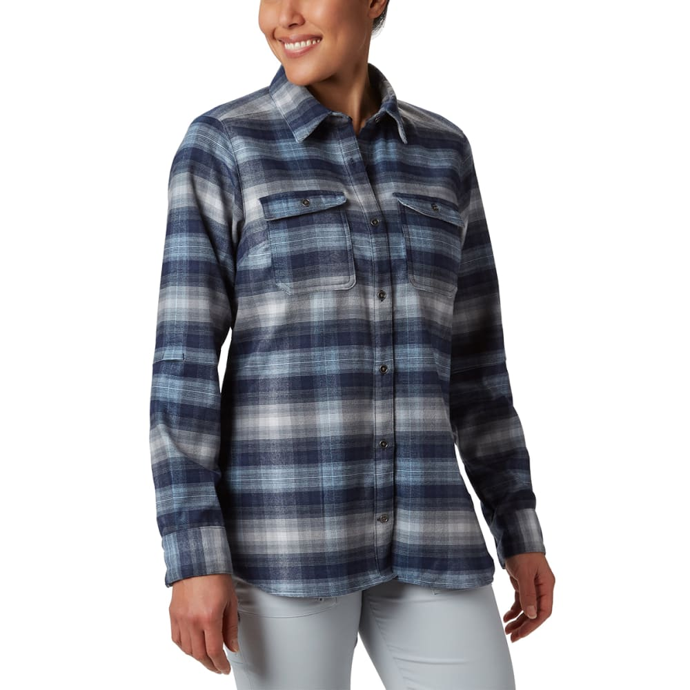 COLUMBIA Women' Bryce Canyon Stretch Flannel Shirt M