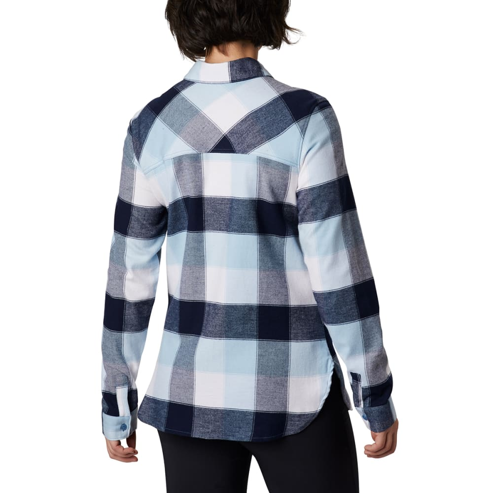 COLUMBIA Women's Anytime II Stretch Long-Sleeve Shirt - 472-DARK NOCTURNAL