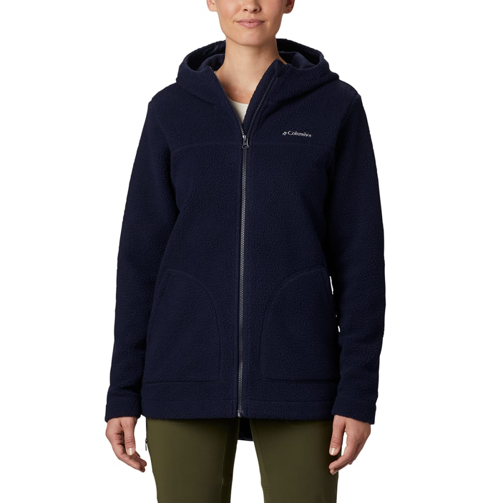 COLUMBIA Women's Full Zip Canyon Point Sherpa Hoodie M