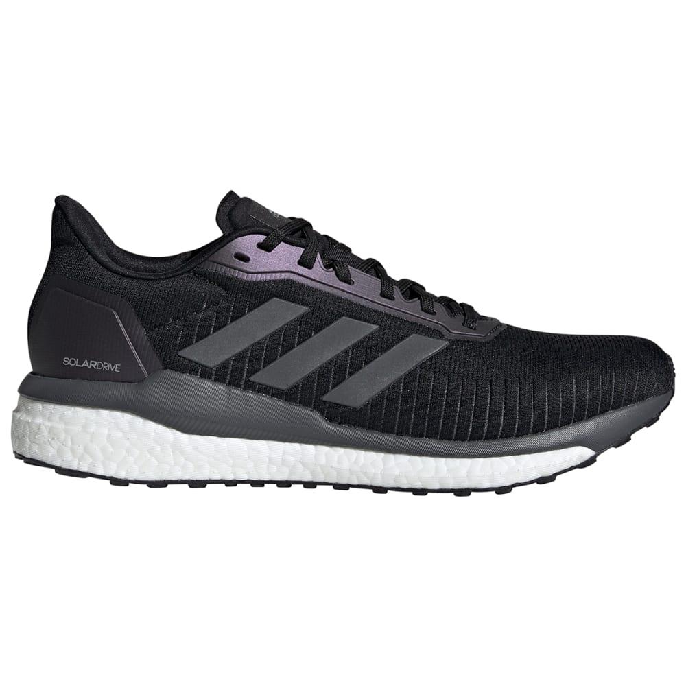 ADIDAS Men's Solar Drive Running Shoe - BLACK/GRY/WHTE