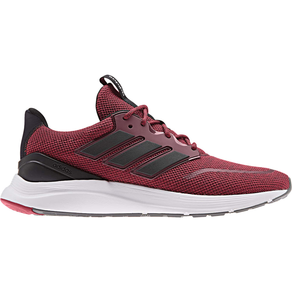 ADIDAS Men's Energy Falcon Running Shoes - MAROON/BLK/MAROON