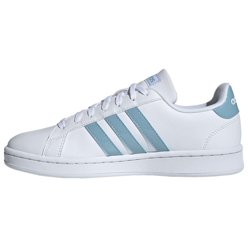 ADIDAS Women's Grand Court Sneakers - WHITE/GREY/GRANITE