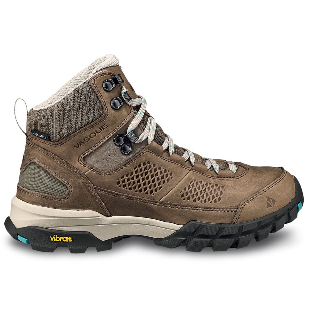 VASQUE Women's Talus  Ultradry Hiking Boots - BRINDLE/BALTIC