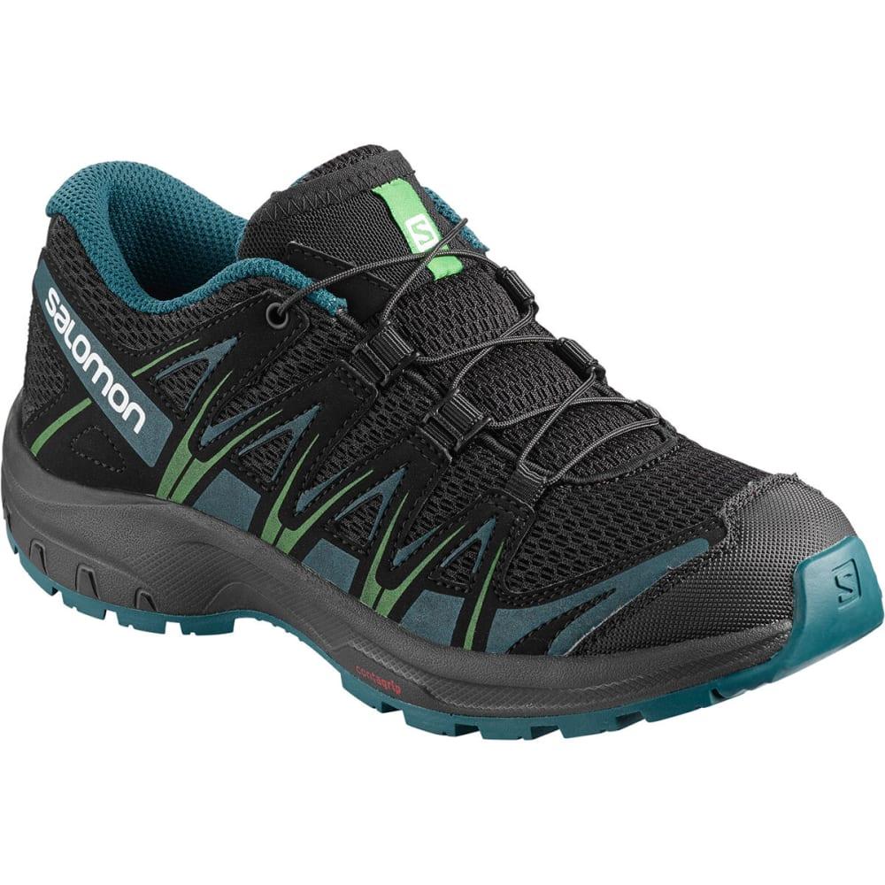 SALOMON Kids' XA Pro 3D J Trail Running Shoes - BLK/LAG/LIM
