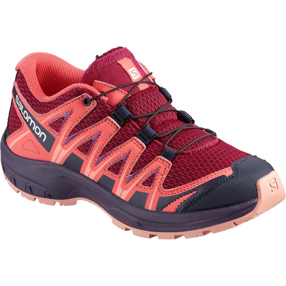 SALOMON Kids' XA Pro 3D J Trail Running Shoes - CERISE/DUBARRY