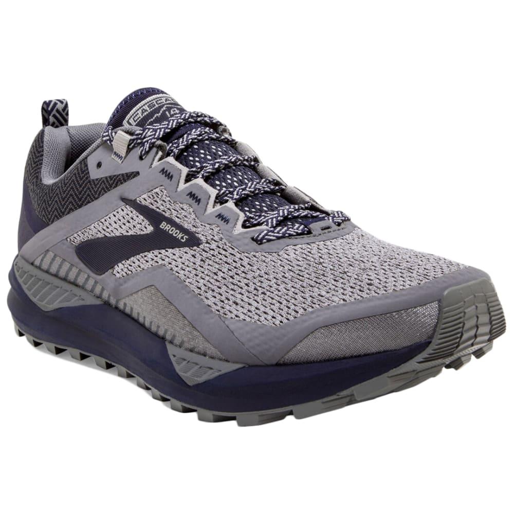 BROOKS SPORT Men's Cascadia 14 Trail Running Shoes - GREY