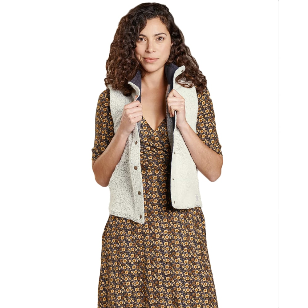 TOAD & CO Women's Telluride Sherpa Vest - NATURAL-016
