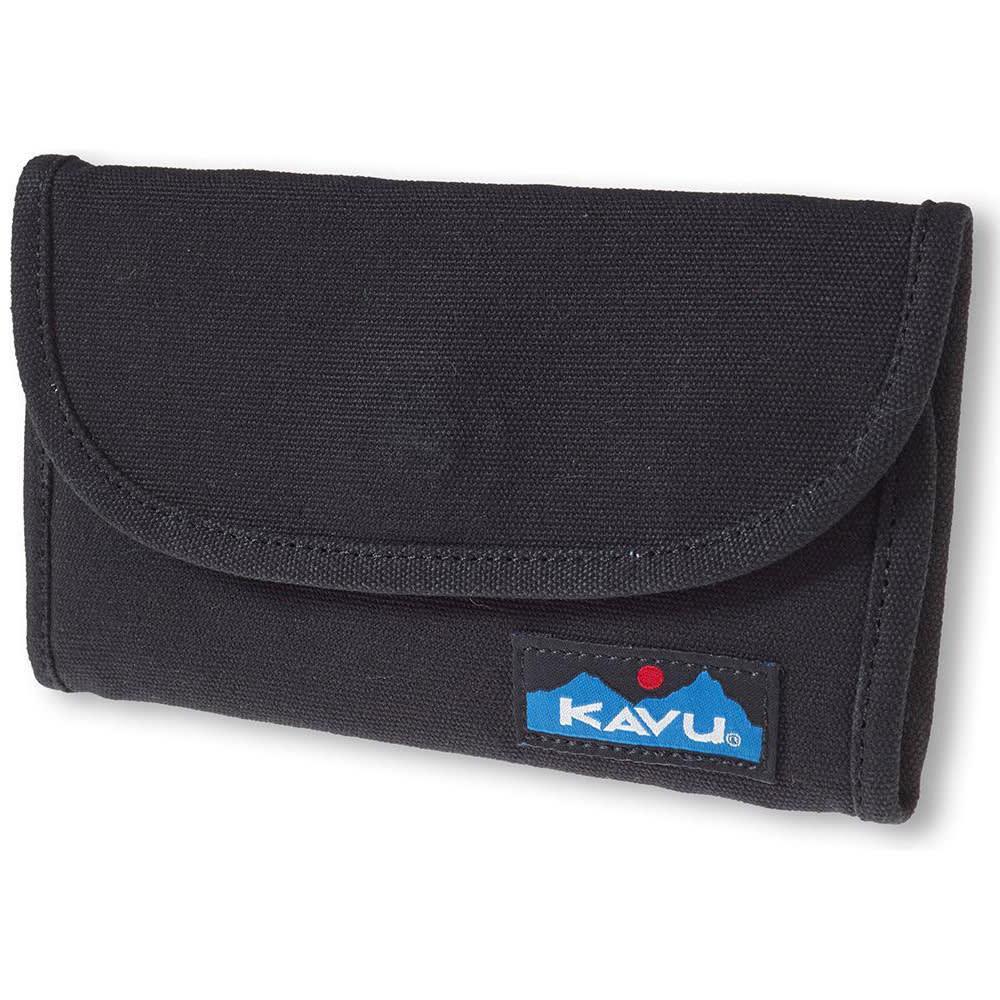 KAVU Women's Big Spender Wallet - 20 Black