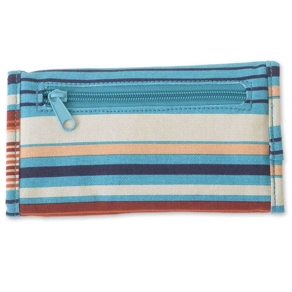 KAVU Women's Big Spender Wallet - 1012 CASCADE STRIPE
