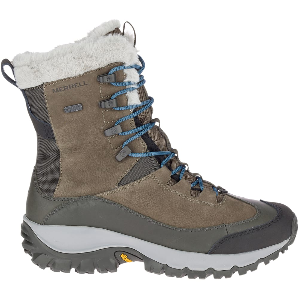 MERRELL Women's Thermo Rhea Waterproof Hiking Boot - OLIVE GREEN