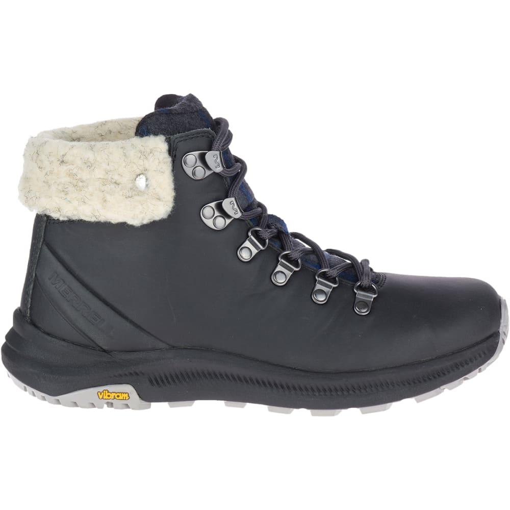 MERRELL Women's Ontario X Stormy Kromer Wool Hiking Boot - GRANITE