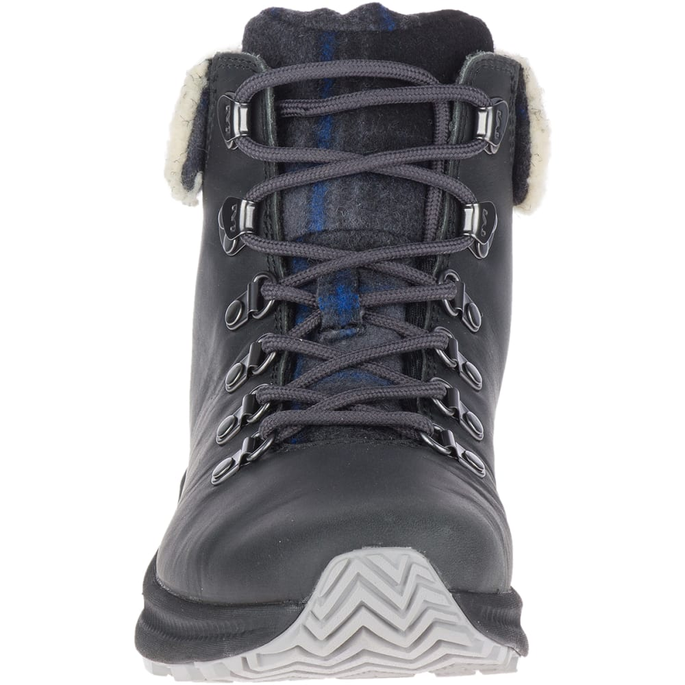 MERRELL Women's Ontario X Stormy Kromer Wool Hiking Boot - GRANITE
