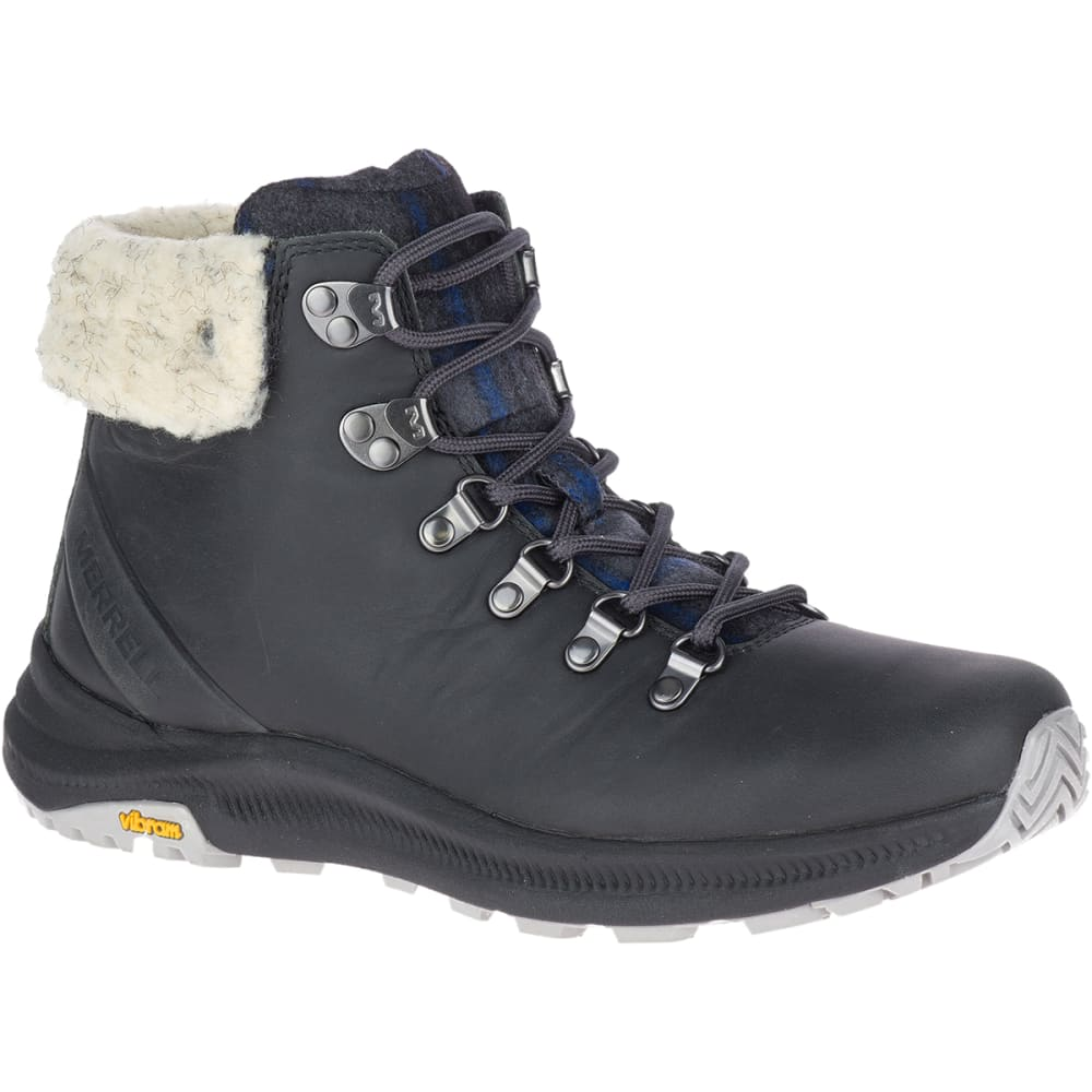 MERRELL Women's Ontario X Stormy Kromer Wool Hiking Boot 7
