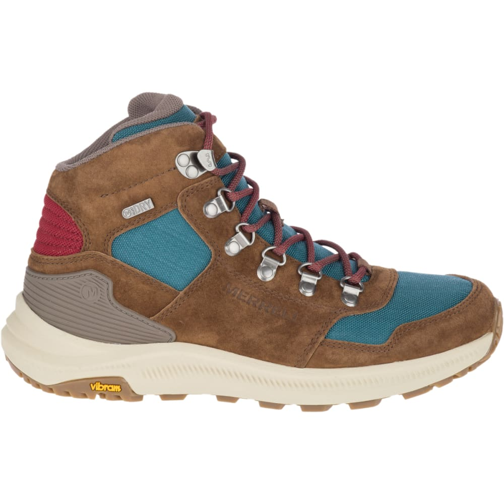 MERRELL Women's Ontario 85 Mid Waterproof Hiking Shoes - DRAGONFLY