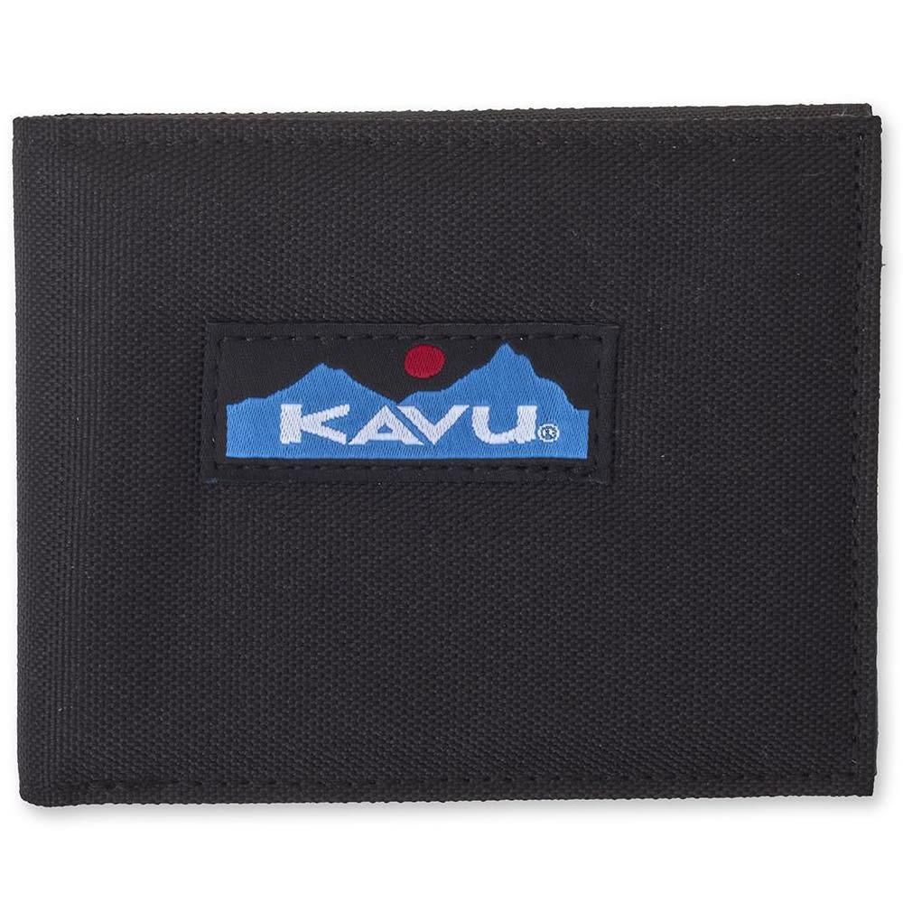 KAVU Roamer Wallet - 396 JET BLACK