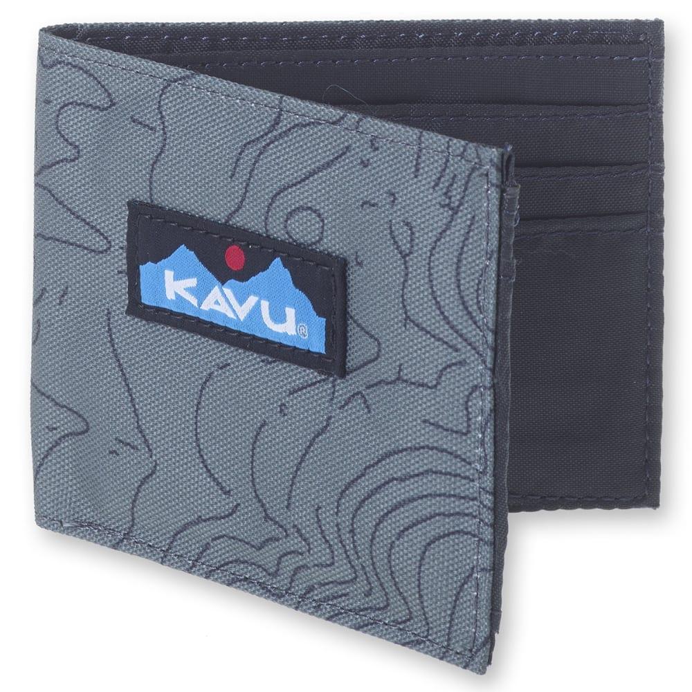 KAVU Roamer Wallet - 1018 GREEN TOPO