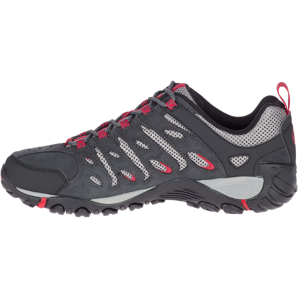 MERRELL Men's Crosslander 2 Low Hiking Shoes - GRANITE/CHERRY