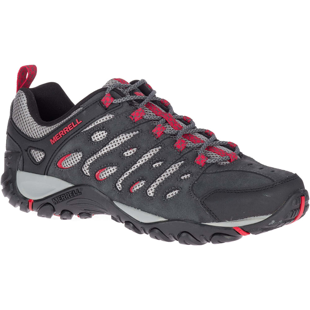 MERRELL Men's Crosslander 2 Low Hiking Shoes - GRANITE/CHERRY