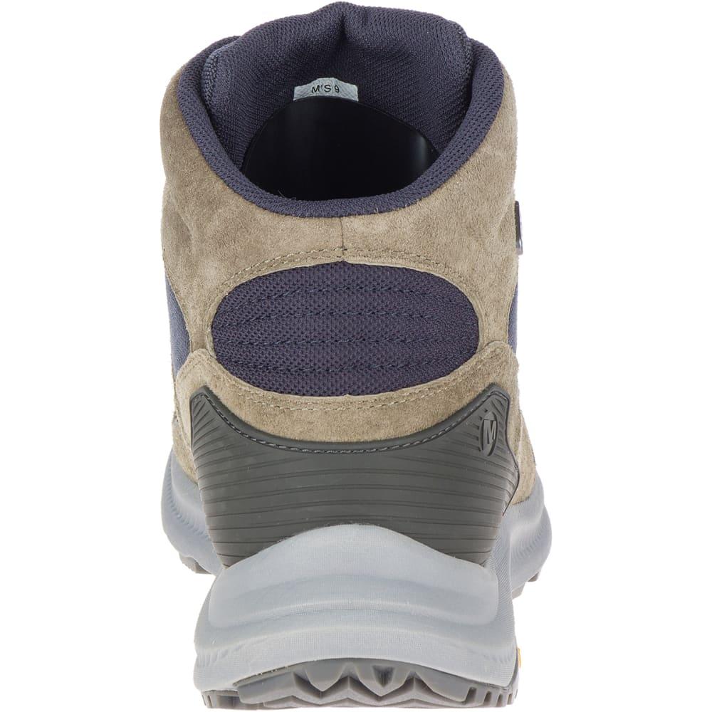 MERRELL Men's Ontario 85 Mid Waterproof Hiking Shoes - OLIVE