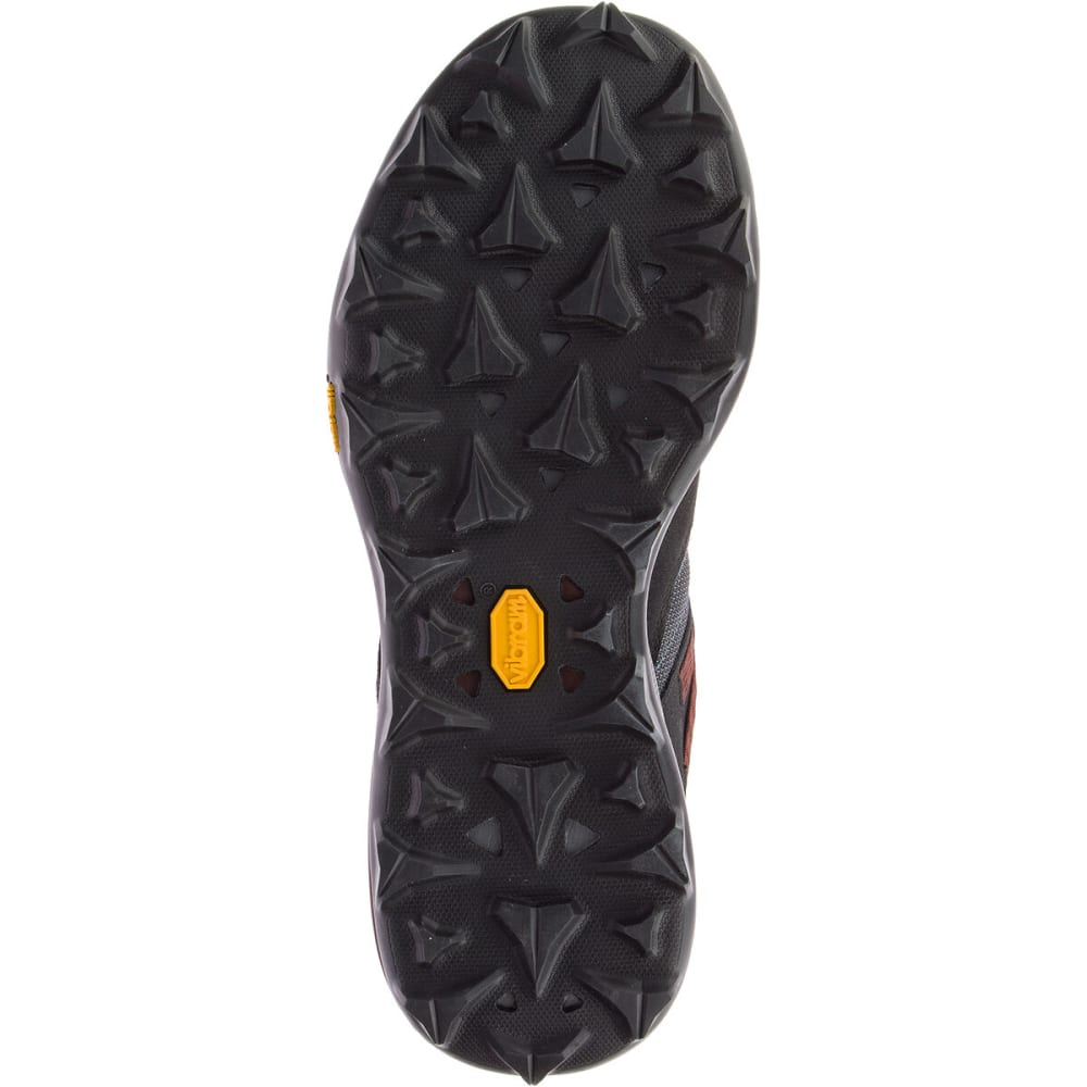 MERRELL Men's Zion Waterproof Hiking Boot - BLACK