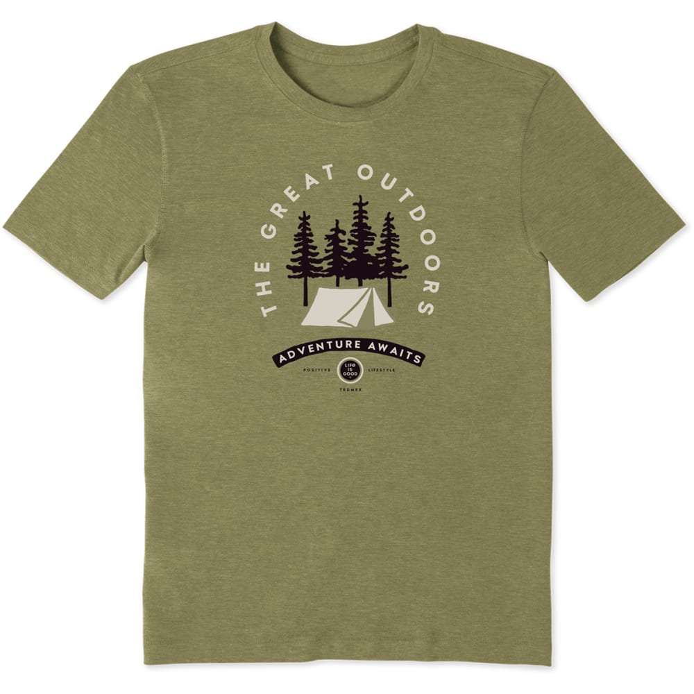 LIFE IS GOOD Men's Adventure Awaits Tee L