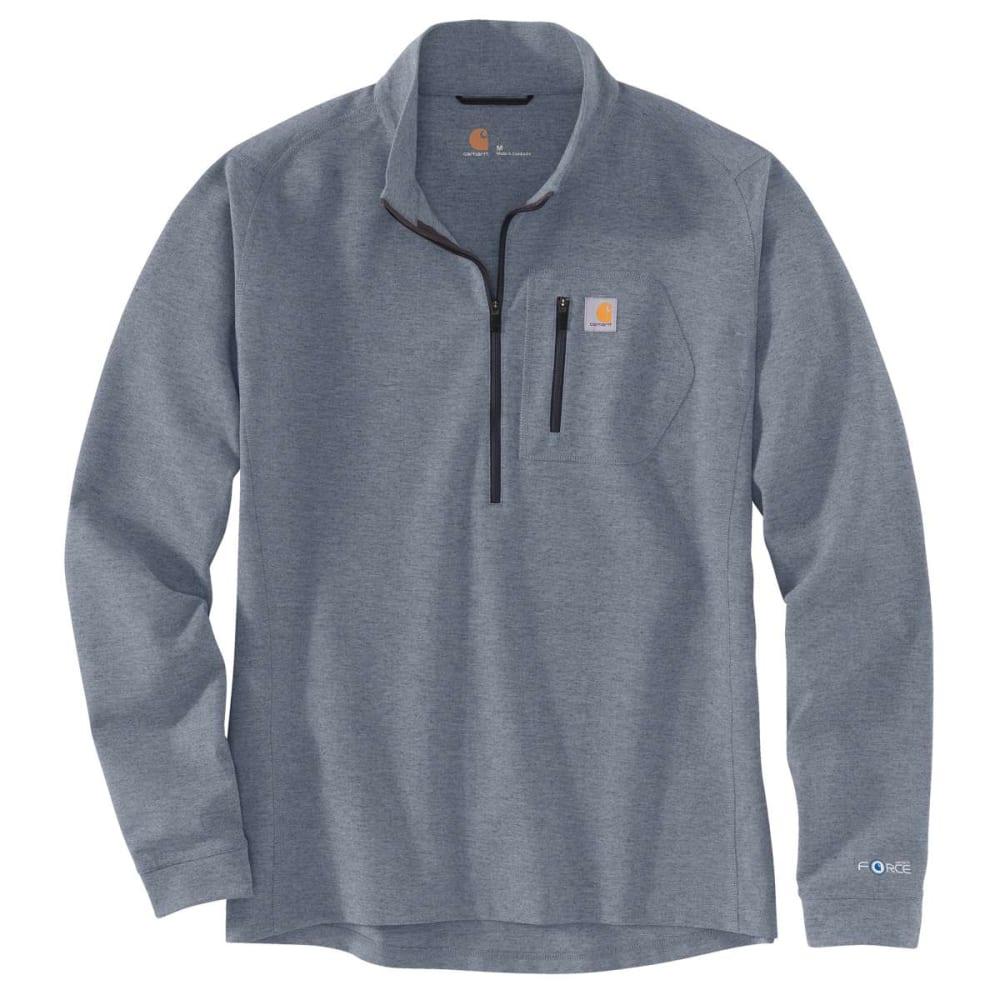 CARHARTT Men's Base Force Heavyweight Quarter Zip Shirt M