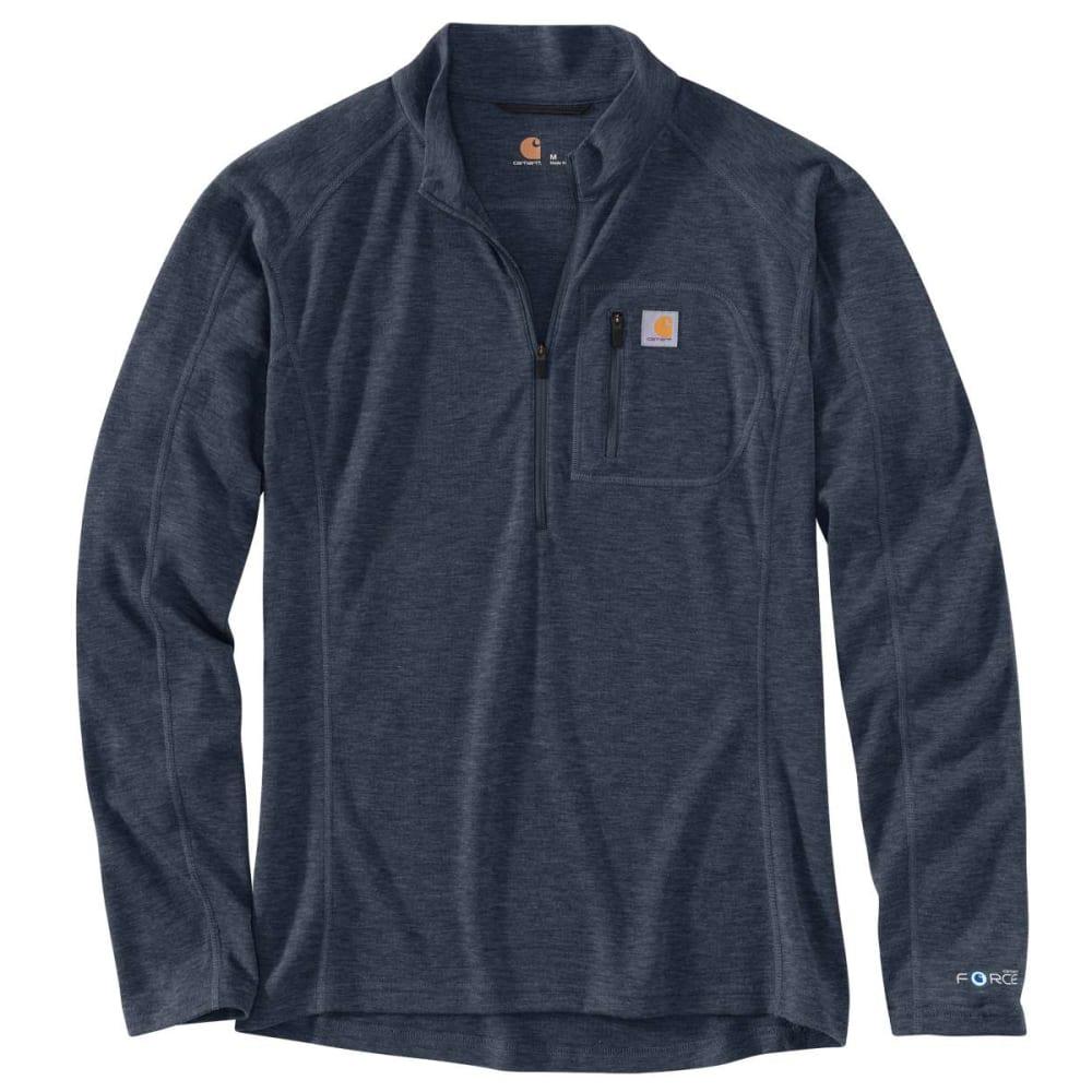CARHARTT Men's Base Force Heavyweight Poly Wool Quarter Zip Top L