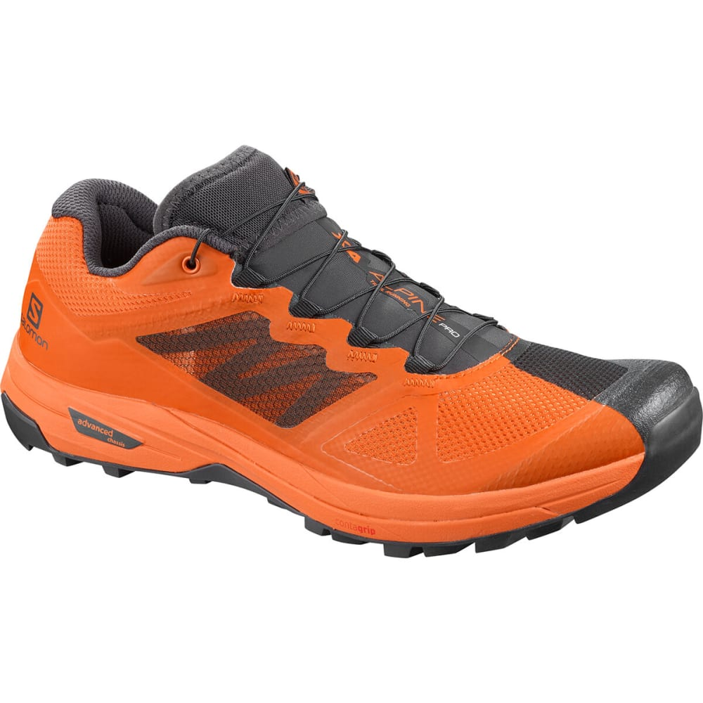 SALOMON Men's X Alpine Pro Trail Running Shoe - PHANTOM/RUSSET