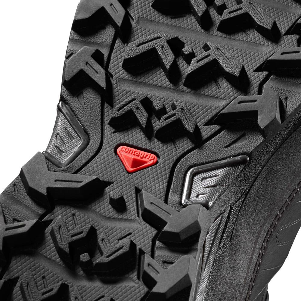 SALOMON Men's X ULTRA MID WINTER CS WP Hiking Boots - BLACK