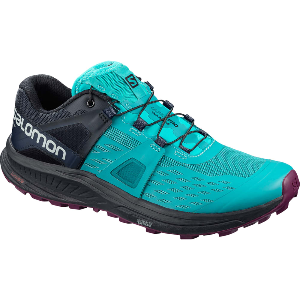 SALOMON Women's Ultra Pro Trail Running Shoe - TILE BLUE