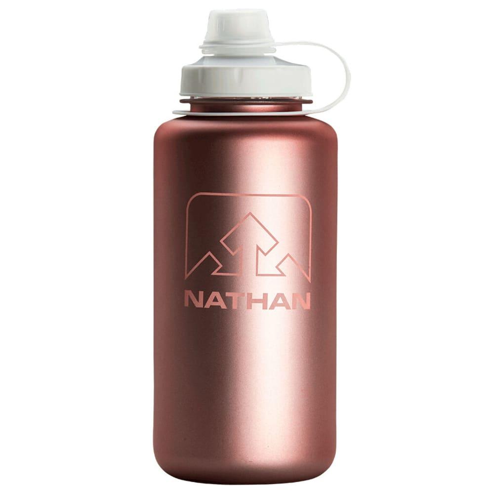 NATHAN BigShot Water Bottle, 1L - DESERT GOLD/WHITE IR