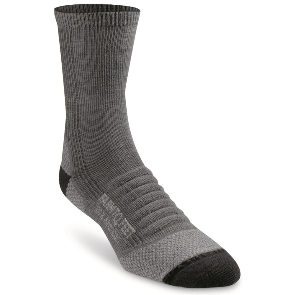 FARM TO FEET Men's Damascus 3/4 Crew Lightweight Technical Trail Socks M