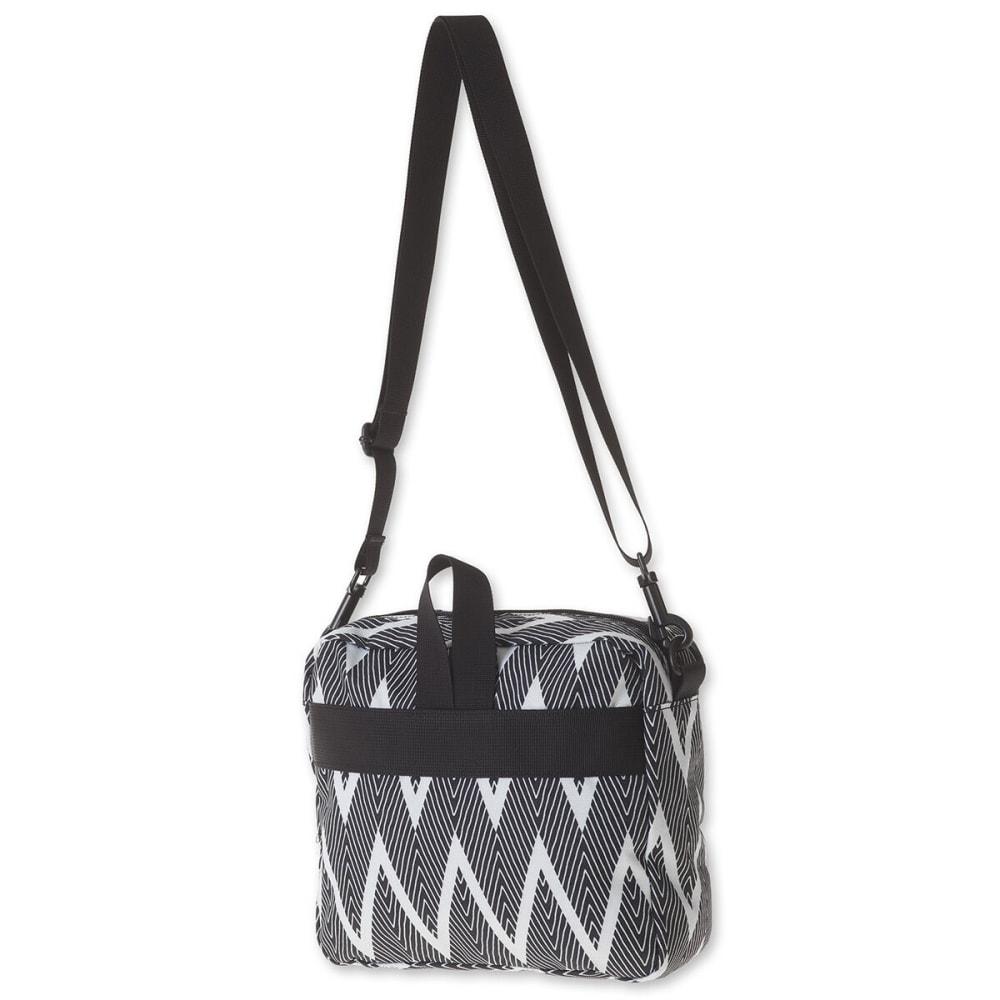 KAVU Women's Nantucket Bag - 1021 BLACK ZIG ZAG