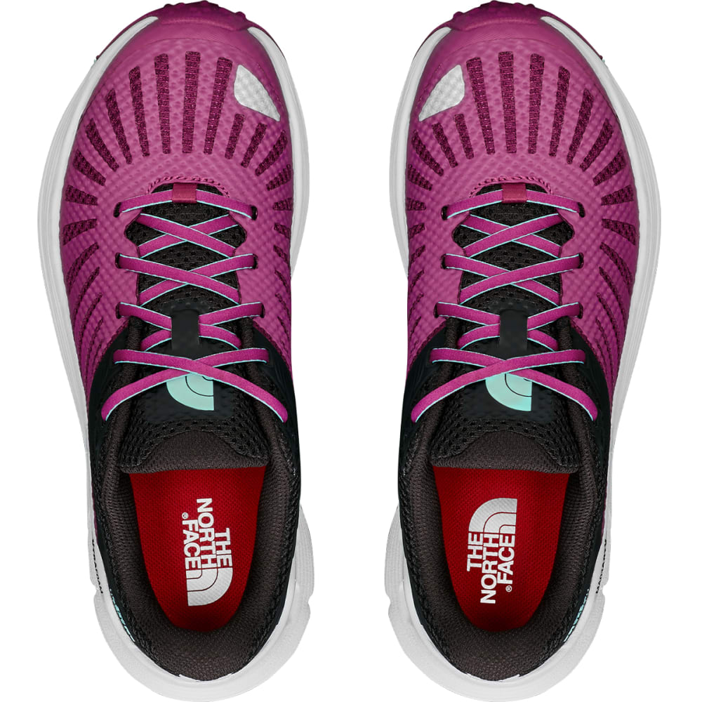 THE NORTH FACE Women's  Ampezzo Trail Running Shoes - LUX PURPLE-C68