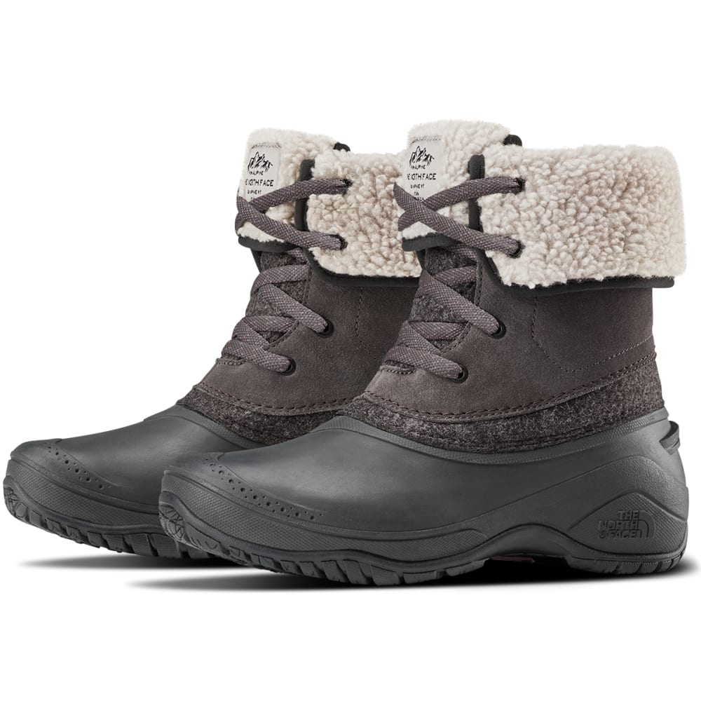 THE NORTH FACE Women's Shellista 2 Roll-Down Waterproof Winter Boots - DK GULL GRY-GTW