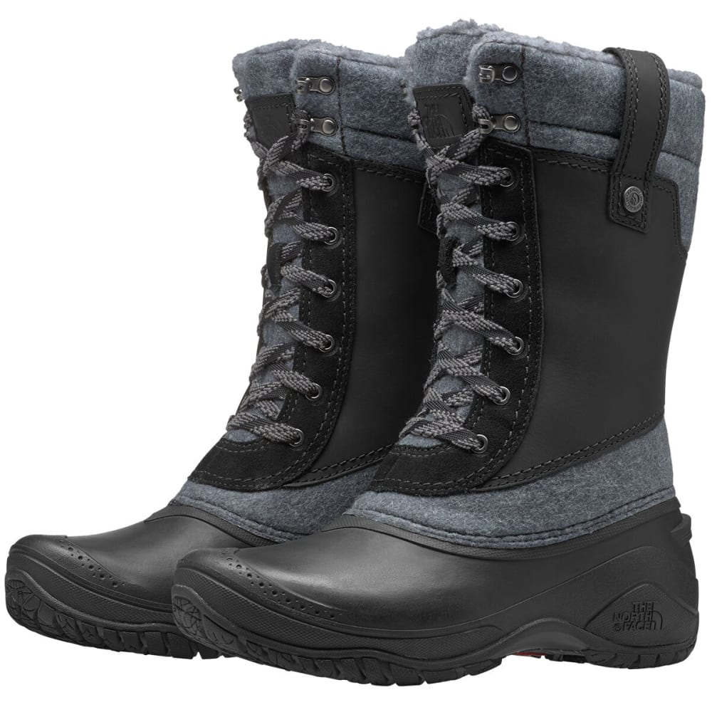 THE NORTH FACE Women's Shellista 3 Mid Boots - TNF BLK/ZINK GRY-KZ2