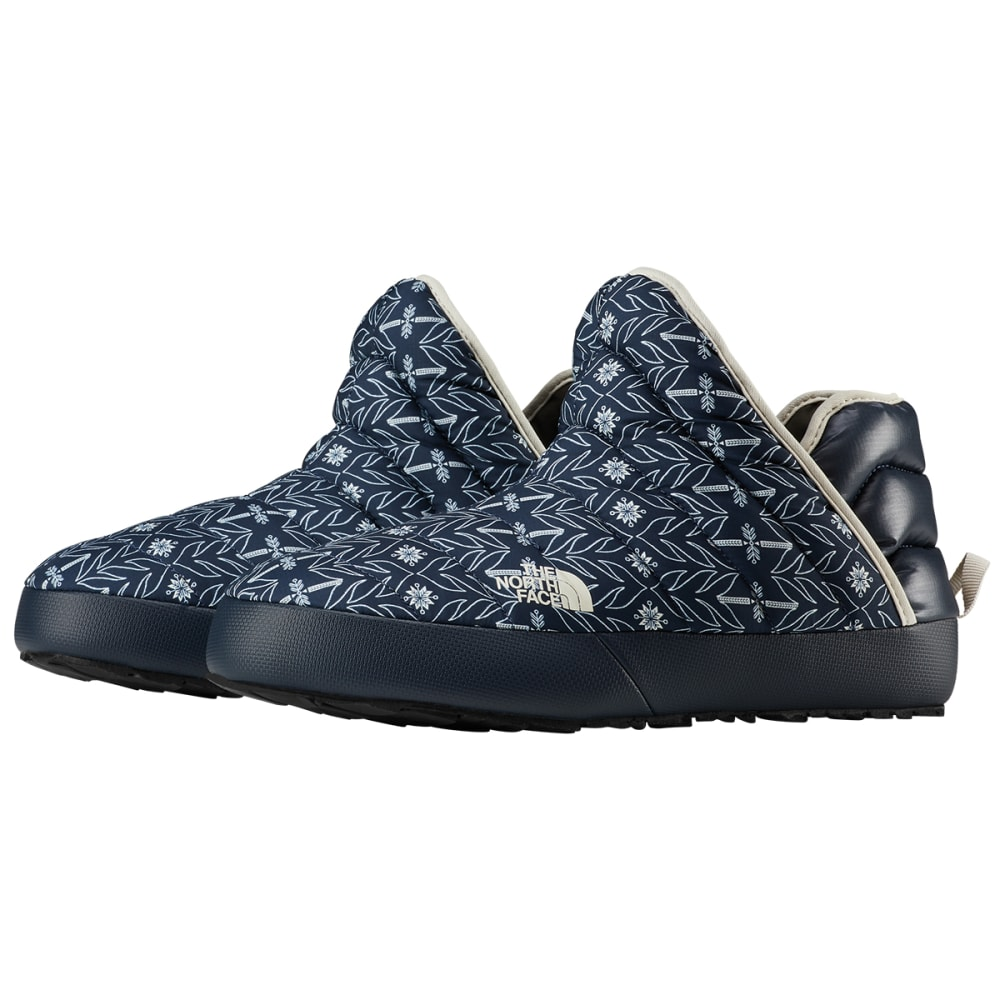 THE NORTH FACE Women's Thermoball Traction Booties - URB NVY TRE PRNT-H49