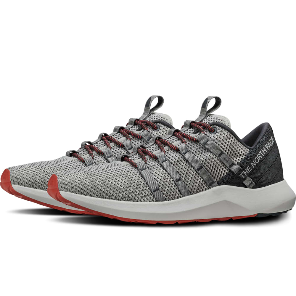THE NORTH FACE MEN'S Surge Liffey Trail Running Shoes - MELD GRY/EBY GRY-C69