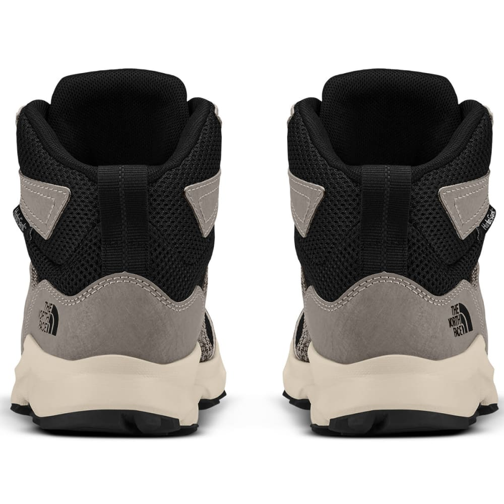 THE NORTH FACE Boys' Hedgehog Waterproof Hiking Boots - SILT GRY/BLK-C96